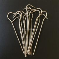 Cheap 10pcs Gr5 Titanium tent Peg nail stake hook spike skewer Camping hiking outdoor 3mm*150mm for sale