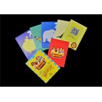 Cheap Printed Children Learning Flash Cards , Paper Material English Flashcards for sale