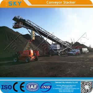 Cheap SGS 16m Crawler Tracks 1000tph Conveyor Stacker for sale