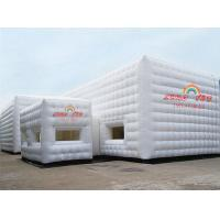 Cheap White 9x6m Party Inflatable Cube Tent for outdoor event for sale