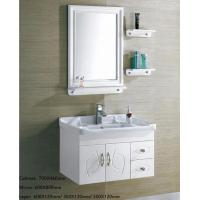Home Modern Furniture Hanging Corner Wall Mounted Bathroom Cabinets With Sink With Certificate