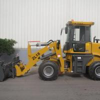 Buy cheap ZL18 1.8T Mini Hydraulic Wheel Loader from wholesalers