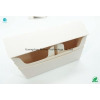 Cheap Plain White Paperboard 220gsm-230gsm Grammage Paper HNB E-Tobacco Package Materials Cases Printing for sale