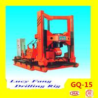Cheap China Hot Sale Multi-functon GQ-15 Foundation Engineering Drilling Rig With 50 m Depth for sale