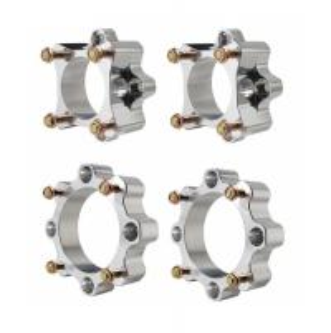 Cheap Aluminum Quad Wheel Spacers , High Precision Silver Utv Wheel Spacers for sale
