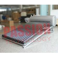 Cheap Simple Structure Heat Pipe Solar Water Heater With Copper Heat Tube 6 Bar for sale