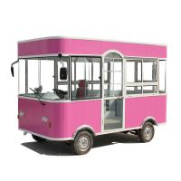 Cheap Commercial Mobile Food Cart Mobile Food Trailer 3 Wheels / 4 Wheels CE for sale