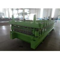 Cheap Main Power 5.5Kw IBR And Corrugated  Double Layer Roof Panel Roll Forming Machine for sale