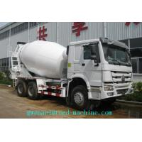 Cheap SINOTRUK HOWO  6x4 Concrete Mixer Trucks in White , 8 Cubic Meters for sale