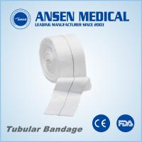 Cheap 10.75cm or 11cm X 10m with Yellow Line Head & Small Trunk Viscose Tubular Bandage for sale