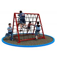Cheap Rectangular Shape Small Rope Climbing Structure For Shopping Mall KP-PW030 for sale