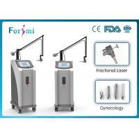 Cheap 1-100ms fractional CO2 machine with two working modes: factional and cutting for sale