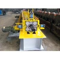 Cheap One Bender Downspout Roll Forming Machine , Gutter Rolling Machine 10-15 M/ Min for sale