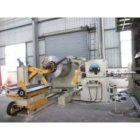 Cheap High - Speed Steel Coil Linear Machine , Steel Coil Feeder Automatic Straightening Machine for sale