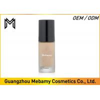 Cheap Full Coverage Liquid Mineral Foundation SPF 18 , Luminous Liquid Mineral Makeup for sale