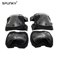 Cheap Outside Airsoft Paintball Tactical Gear Knee Elbow Pads for War Game Protection for sale