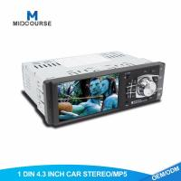 Cheap Universal 1 Din Car Stereo With Touch Screen Single Din Mp5 Player for sale