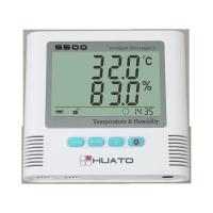 Sound Light Alarm Import Sensor High Accuracy Server Room use Temperature Humidity Data Logger