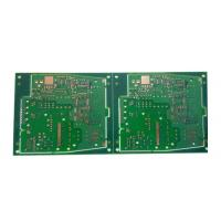 Cheap 2 Layer Green ENIG PCB for sale