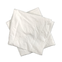 Cheap White Bed Sheet Regular Size Hotel Recycled Industrial Cotton Rags for sale