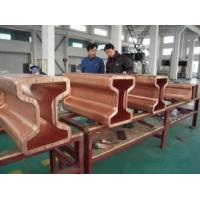 Cheap H Beam Copper Mould Tube / Copper Rectangular Tubing Standard Customised Sizes for sale