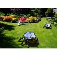 Cheap Large Stainless Steel Sculpture Artists Metal Animal Insect Sculpture Garden for sale