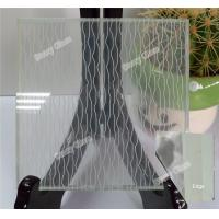 Cheap Decorative Fabric Laminated Glass for sale