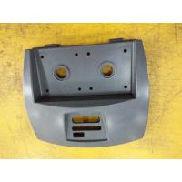 ABS Grey Plastic Cover for Pump Device , Plastic Injection Moulding Parts