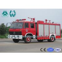 Cheap Double Cabin Dry Powder Fire Fighter Truck 4 x 2 Dongfeng Chassis for sale