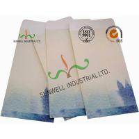 Quality Lotus / Fish Pattern Custom Printed Envelopes Special Size Kraft Coated Paper wholesale