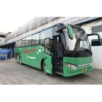 Cheap Kinglong Diesel 2016 Year GREEN LUXURY 191kW 51 Seats Used Tour Bus for sale