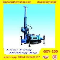 Cheap China Cheapest Multi-function Mobile Crawler GXY-100 DTH Hammer Water Well Drilling Rig for sale