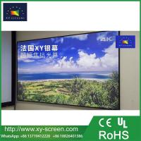 Cheap XYSCREEN slim frame ALR fixed frame projector screen for short throw projector for sale