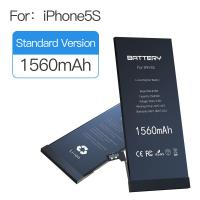 Cheap CE FCC ROHS PSE UN38.3 best battery mobile cellphone battery manufacturers battery Iphone 5s BRAND NEW 0 CYCLE for sale