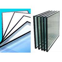 Cheap Flat Shape Low Emissivity Glass , 4mm - 12mm Thickness Low E Tinted Glass for sale