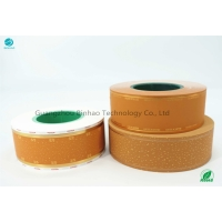 Cheap Color Printing Water Base Ink 64mm Yellow Cork Tipping Paper for sale