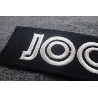 Cheap Heat Cut Polyster Embroidered Badge for sale