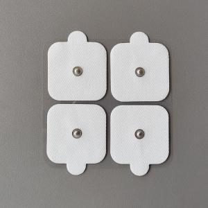 Cheap Five by five, physiotherapy electrodes, 3.5 mm buttons, four in a pack for sale