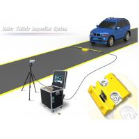 Cheap Portable Under Vehicle Surveillance System With Automatic Digital Line Scan Camera for sale