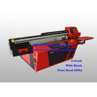 Commercial Multicolor Flatbed UV Printer With Ricoh Industrial Print Head Manufactures