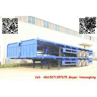 China TIC Flatbed container trailer on sale