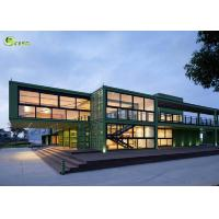 Cheap Expandable Prefab Modular Container Housing Steel Frame Building for sale