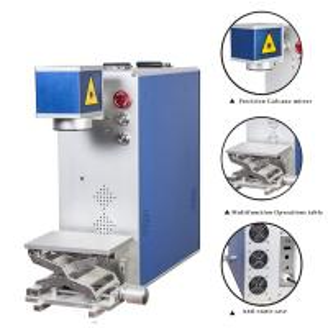 Raycus and IPG Laser Marking Machines Fiber Laser Marker printer for metallic logo code printing