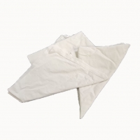 Cheap Marine Cleaning White Bed Sheet Recycled Cotton Rags 49*49cm for sale