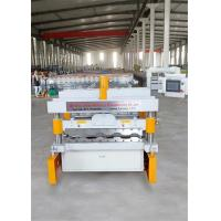 Cheap Double Layer Roll Forming Equipment / Roofing Sheets Machine With 12 Rows for sale