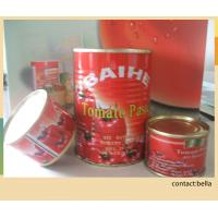 Cheap Syrup Preservation Process and Sour Flavor canned tomato paste for dubai/hot sauce brix 28-30% for sale