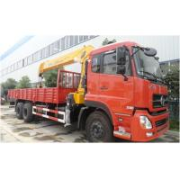 Cheap Dongfeng Crain Used Trucks , 6X4 Used Auto Crane 180/2200 Kw Max Power for sale