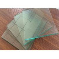Cheap Professional Clear Sheet Glass 1 mm ~ 2.7mm Thickness For Picture Frame for sale