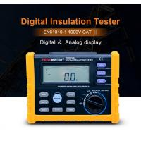 Cheap 2500V Digital Insulation Resistance Tester Auto Power Off Auto Calculate PI And DAR for sale