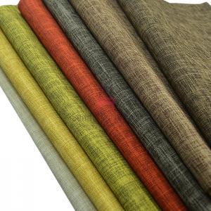 Cheap Fireproof 1.8m Width Furniture Color Palette 450g/M Velvet Linen for sale